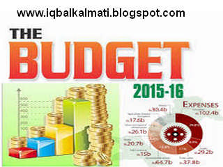 Federal Budget Speech 2015-2016 in Urdu PDF