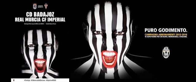 La Juventus plagia al Badajoz en su última campaña