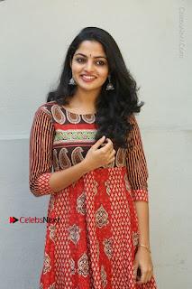 Telugu Actress Nikhila Vimal Latest Stills in Anarkali Dress  0016.JPG
