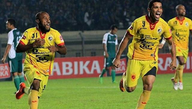 Sriwijaya FC vs PS TNI