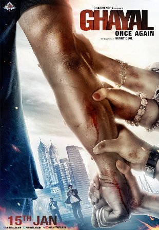 Official Poster - Ghayal Once Again (2016) - All Movie Song Lyrics