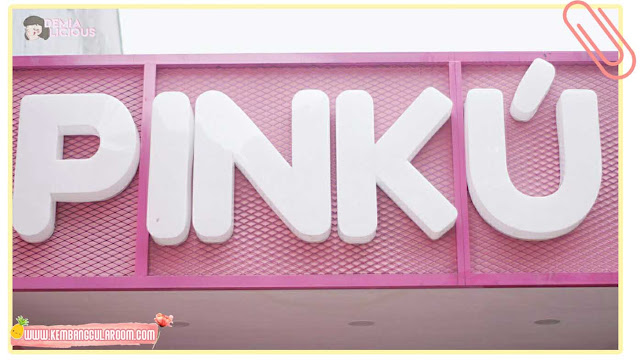 pinku milk bar, tempat instagramable baru di bandung
