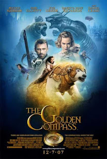 Poster The Golden Compass 2007 Movie Dual Audio Free Download 300Mb