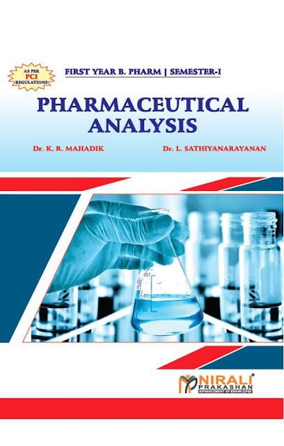 Pharmaceutical Analysis Nirali Parkashan