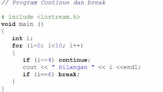 algoritma VI pengulangan
