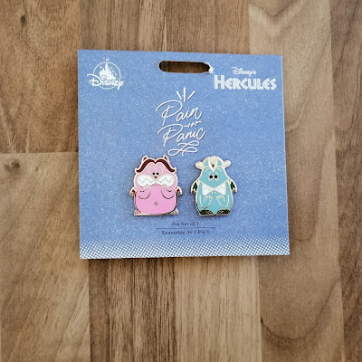 Pain and Panic from Hercules pin badges