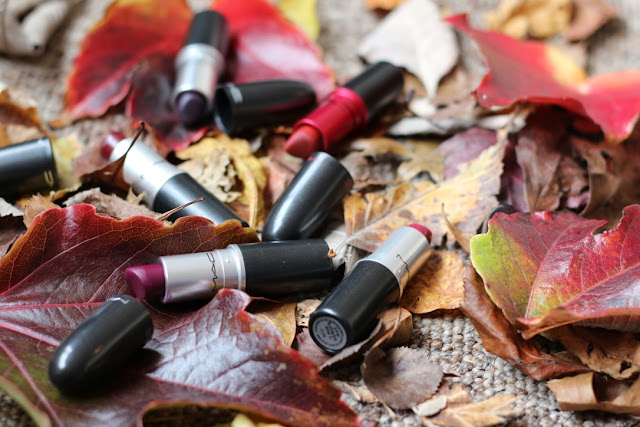 MAC Autumn Lipsticks - G Beauty