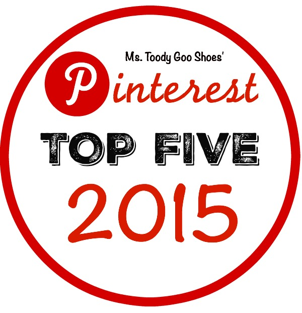 My Top Five Pins of 2015 | Ms. Toody Goo Shoes #Pinterets #TopPins #Pins