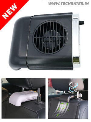 2-in-1 Car Seat Cooling Fan - Portable & Powerful