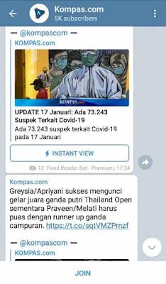 berita di telegram