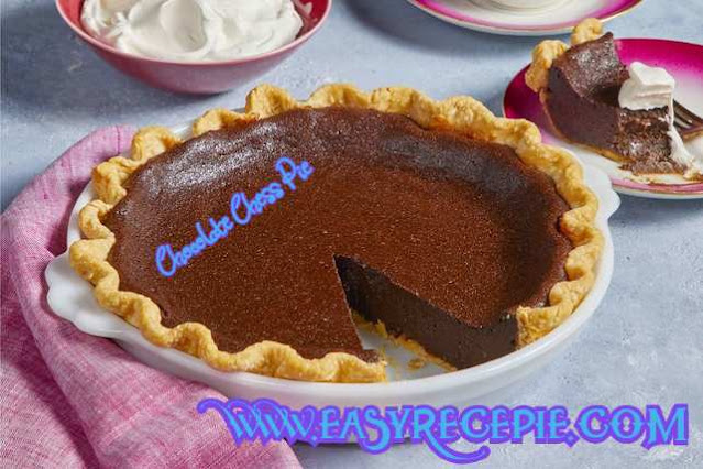Quick and easy Chocolate Chess Pie Recipe at Home