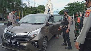 Polres Pelabuhan dan Stakeholder Lakukan Penyekatan di Exit Tol Reformasi