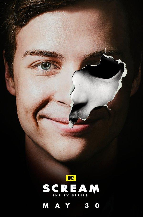 Pósters individuales de la segunda temporada de 'Scream'