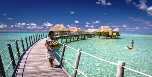 Quem nunca sonhou com um bangalô no Tahiti?
