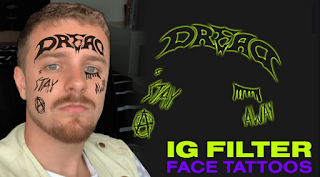 Face Tattoo filter Instagram, here's how to get it