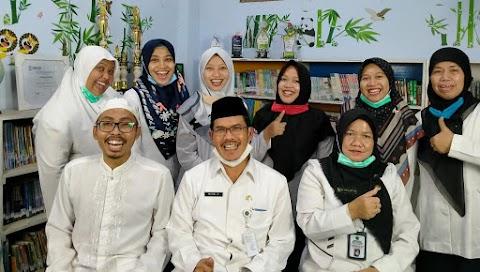 Selamat Datang Bapak Kepala KEMENAG Kota Semarang di MI Miftahul Akhlaqiyah