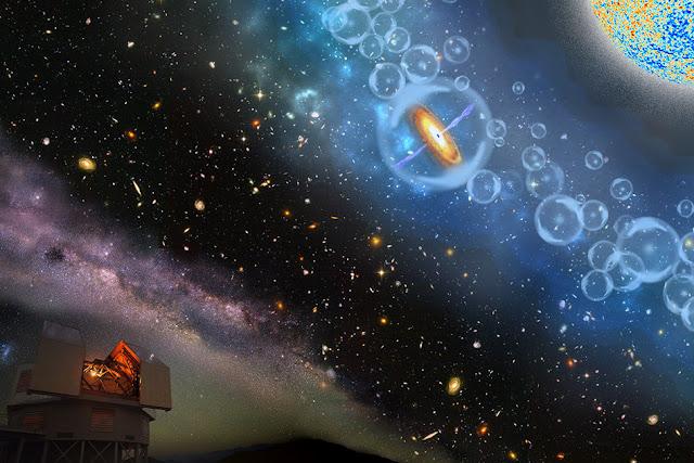 Scientists observe supermassive black hole in infant universe