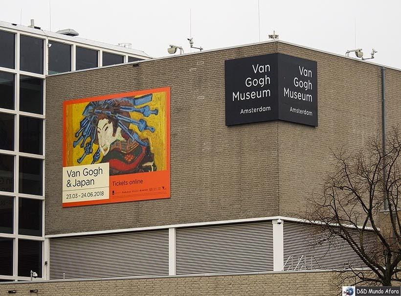 Museu Van Gogh na Museumplain de Amsterdam