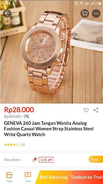 jam tangan lazada