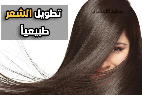 تطويل الشعر بالأعشاب طبيعيا