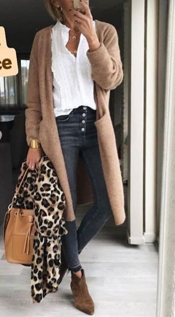 Best Long Cardigan Outfit Ideas for Women