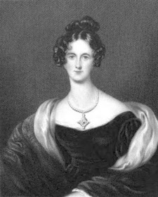 Louisa Beresford, Viscountess Beresford (earlier Mrs Hope) from The Court Magazine and Monthly Critic (1837)