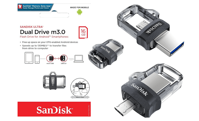 Backup Data Smartphone Dengan USB OTG SanDisk!