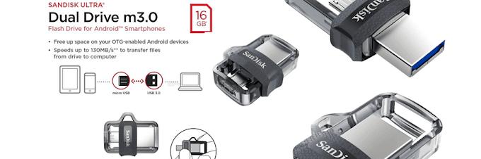 Segera Backup Data Smartphone Anda Dengan USB OTG SanDisk!