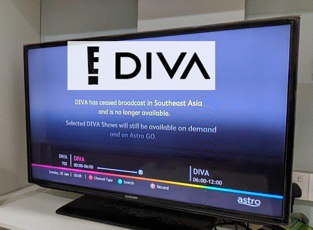 Kini Tiada Lagi Siaran DIVA Dan E! Entertainment Di Astro