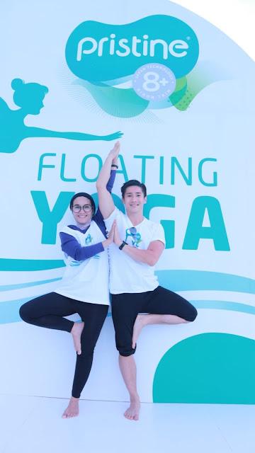 pristine 8+ floating yoga netralkan kadar asam dan menjaga keseimbangan ph dalam tubuh