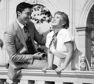 Daniel Henney's picture acting with his co-star