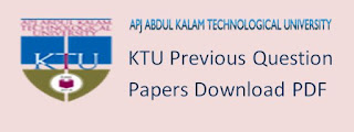 CFF KTU Question Paper 2018-2019 PDF download and Syllabus 2020