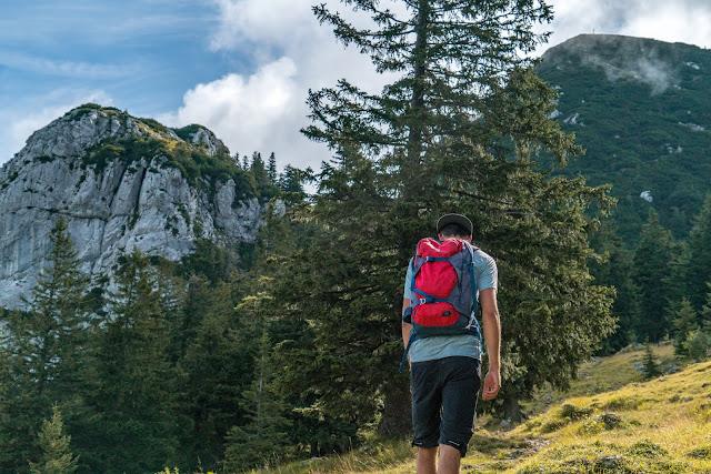 Gamsknogel und Kohleralm  Bergtour Inzell  Wanderung Chiemgauer Alpen 09