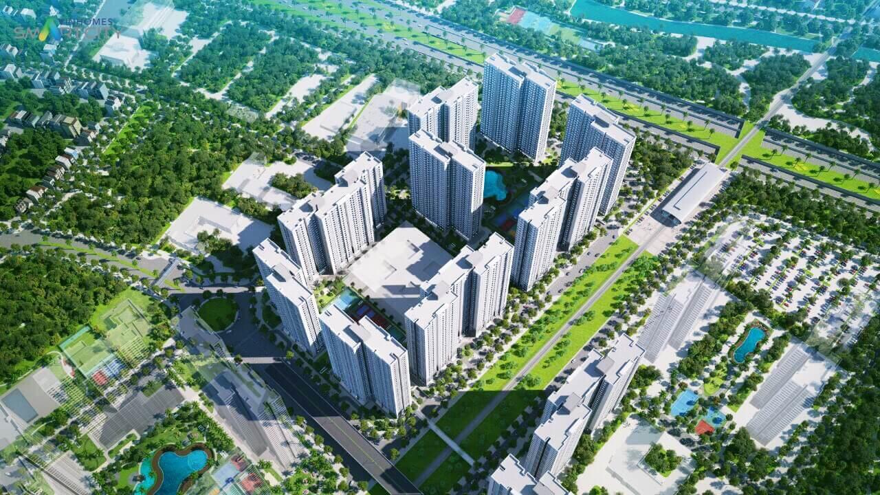 Phối cảnh đại đô thị thông minh của Vingroup