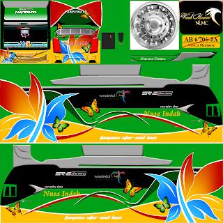 Livery Bus Simulator Indonesia Jernih PNG Bagian V3