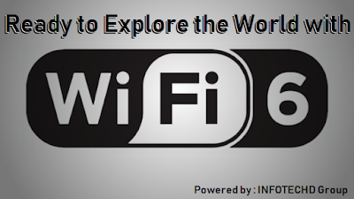 Ready to Explore the world with WiFi6? - INFOTECHD Group