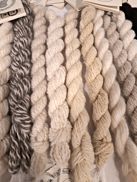 Mini skeins from designers' toolkit - The Woolist talk - Theatr Clwyd Sept 2019