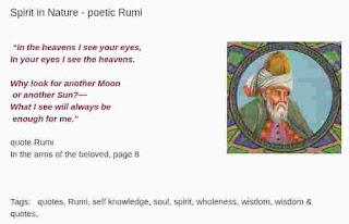 The Sufi poet, Rumi