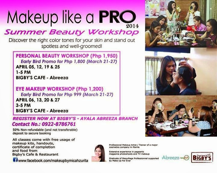 Makeup like a PRO : Summer Beauty Workshop