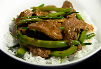 Beef Green Bean and Scallion Stir Fry | Healthy Beef Scallion Stir Fry Recipe