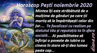 Horoscop Pești noiembrie 2020