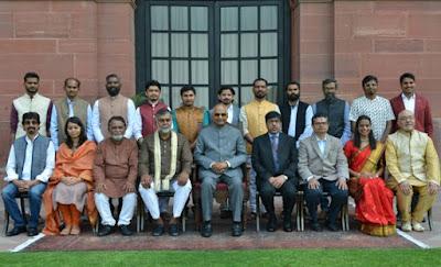 President Ram  Nath Kovind to confer 61st National Lalit Kala Akademi Awards to 15 artists in New Delhi