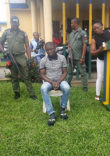 Police Feed Gracious West David, Port Harcourt Serial Killer