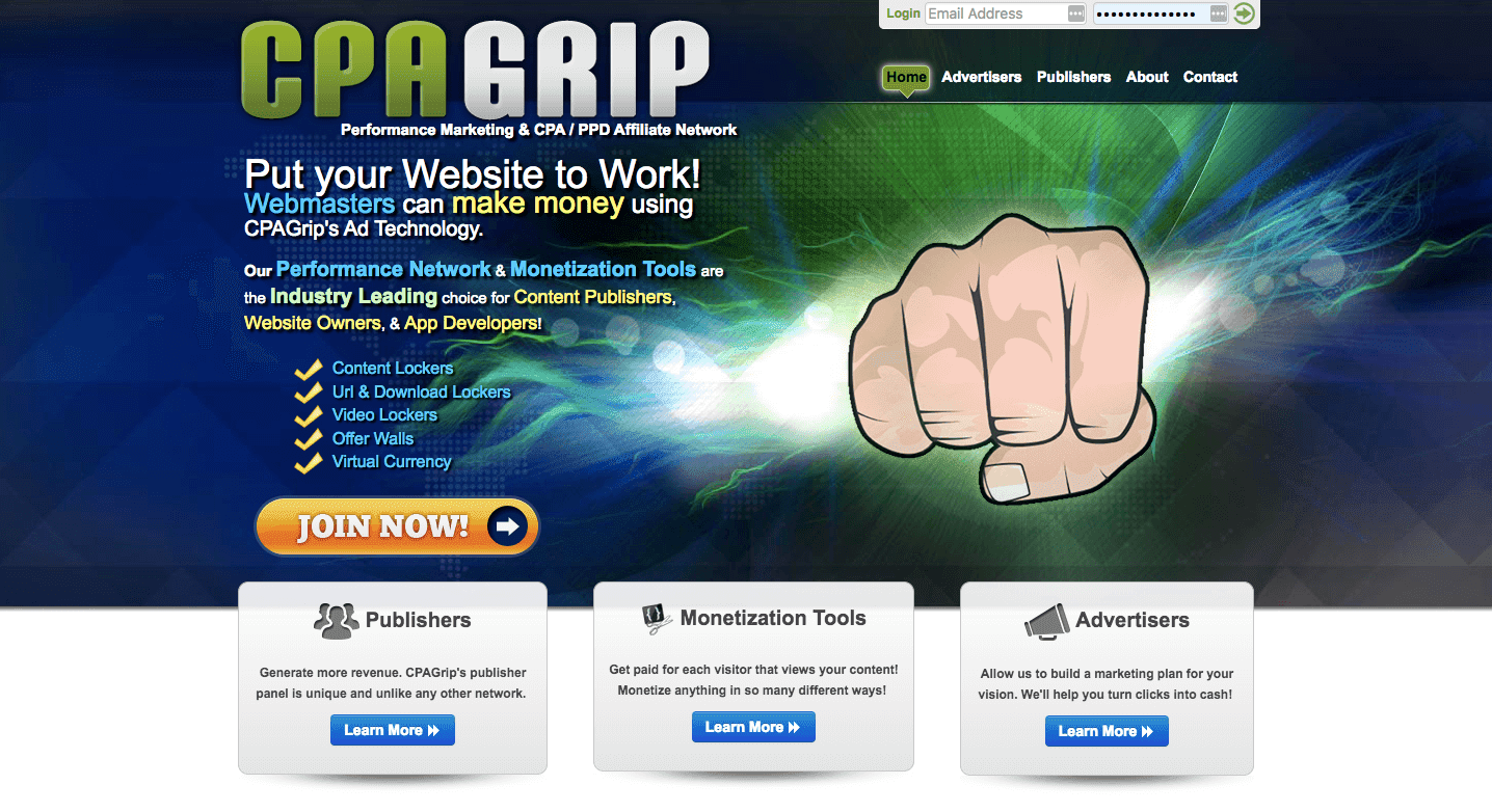 Cpagrip Affiliate Network Review - Scam or Legit