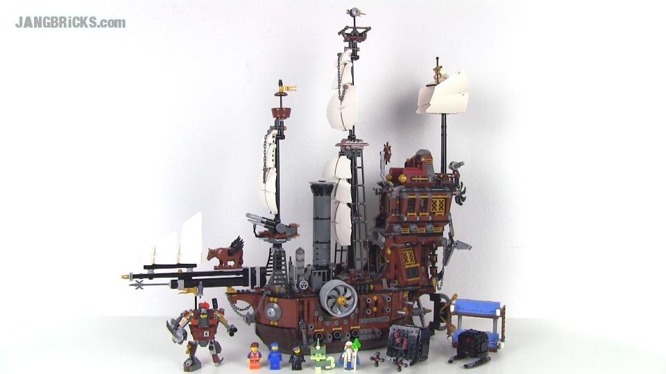 Lego Movie Metalbeard S Sea Cow 70810 Set Review
