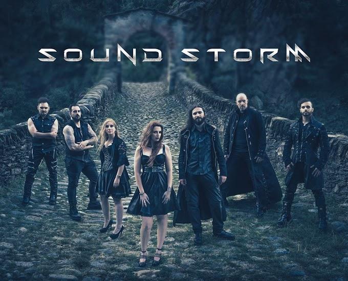 La banda italiana de Metal Sinfónico llama SOUND STORM nos envían su material salido hoy. Conocelos