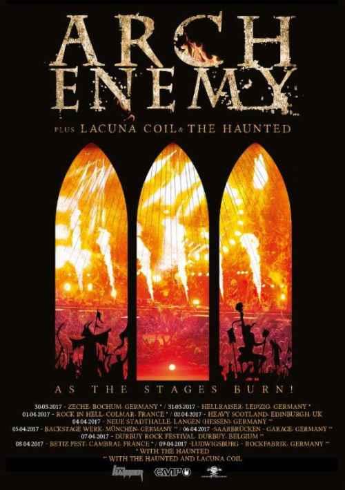 ARCH ENEMY: Νέο live DVD