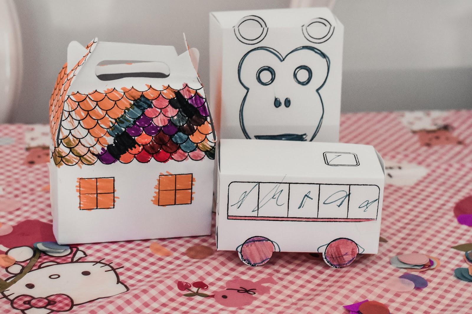 scatole da colorare