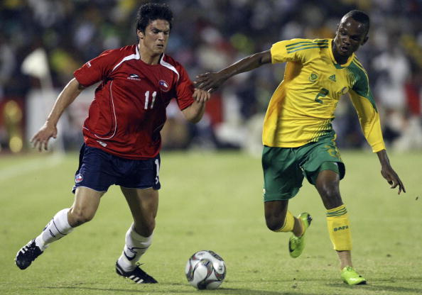 Sudáfrica y Chile en partido amistoso, 11 de febrero de 2009