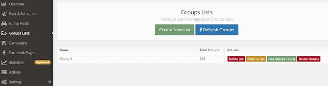 Instrumente marketing online auto poster pe grupurile de pe FaceBook